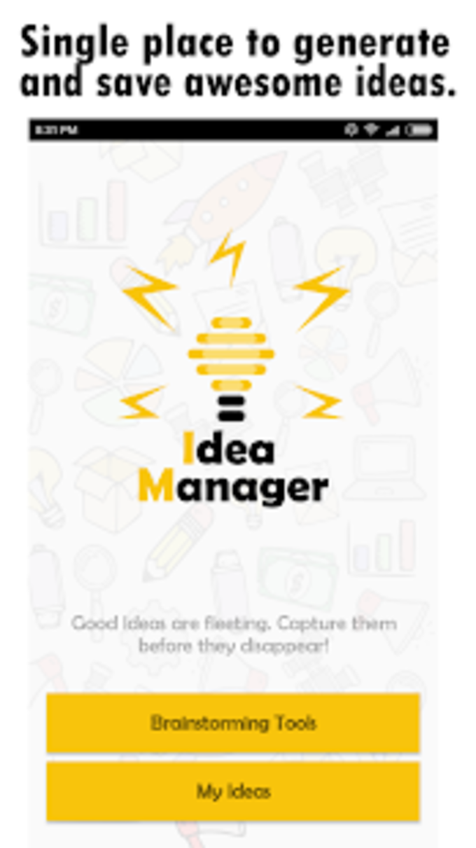 Idea Manager  Your Brainstorming Buddy