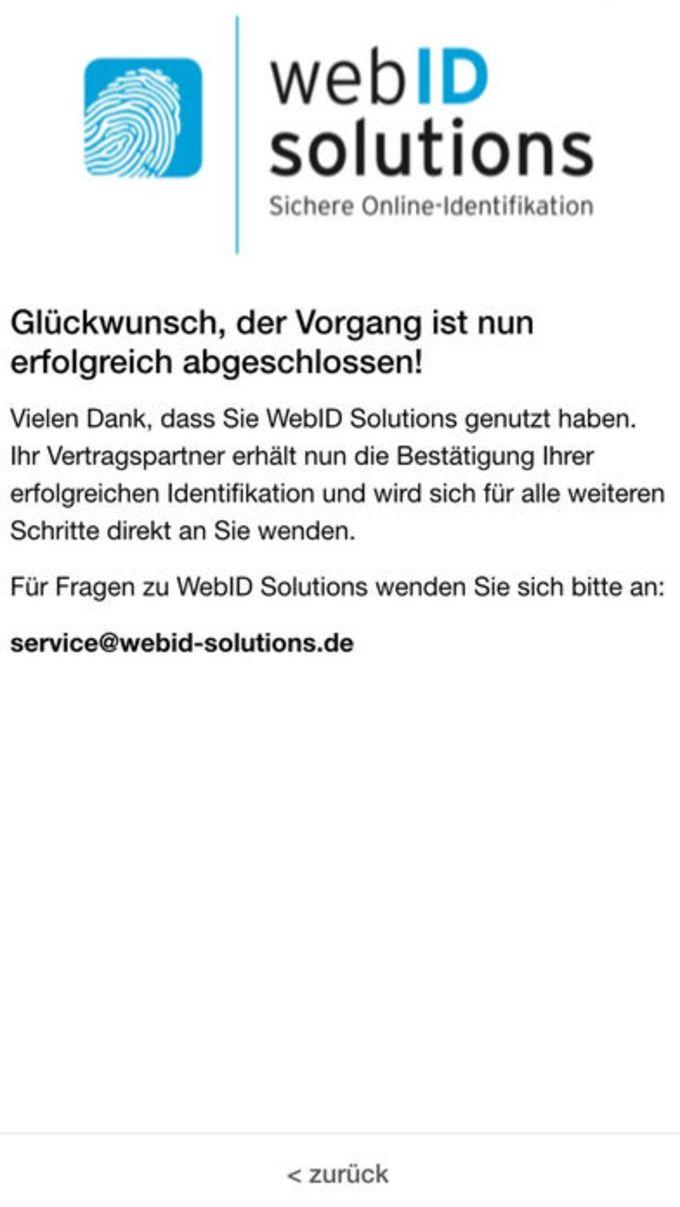 WebIDent