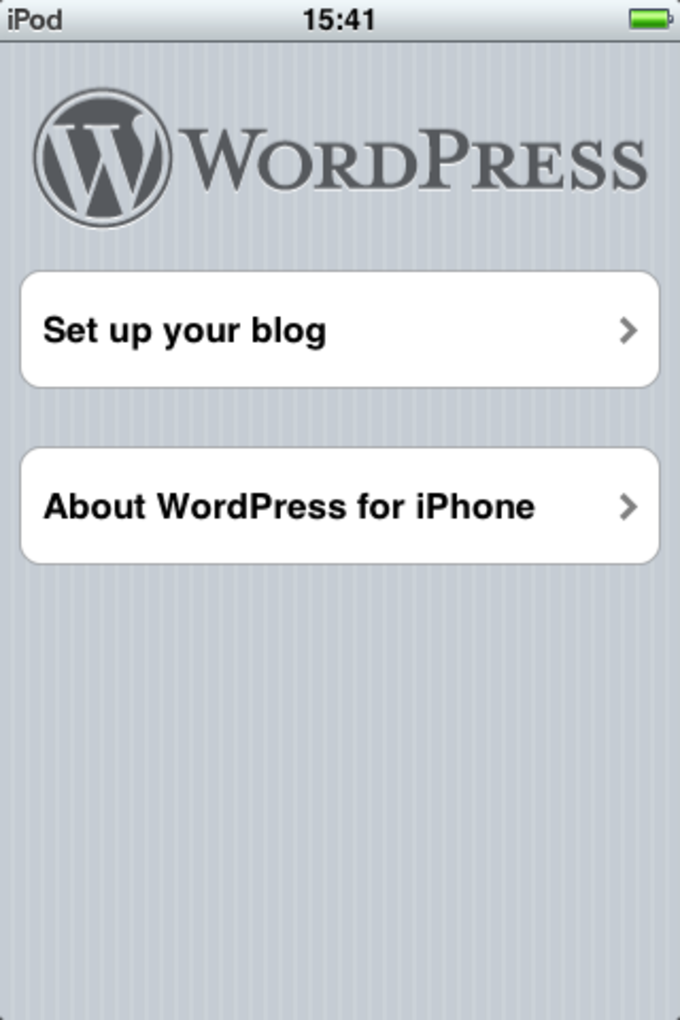 WordPress für iPhone/iPad