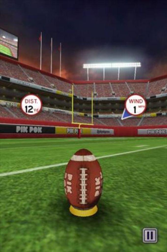 Flick Kick Field Goal