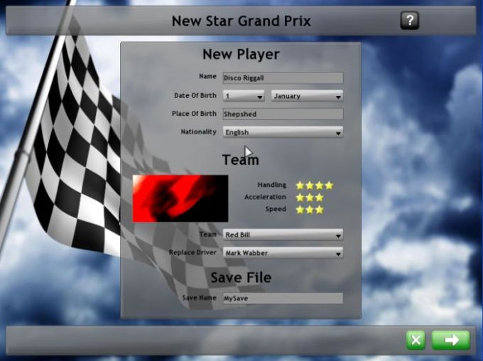 New Star Grand Prix