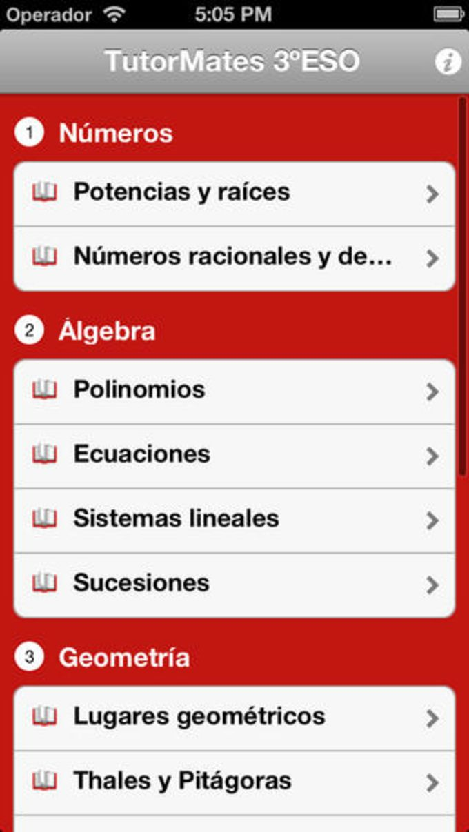 TutorMates Mobile 3ESO