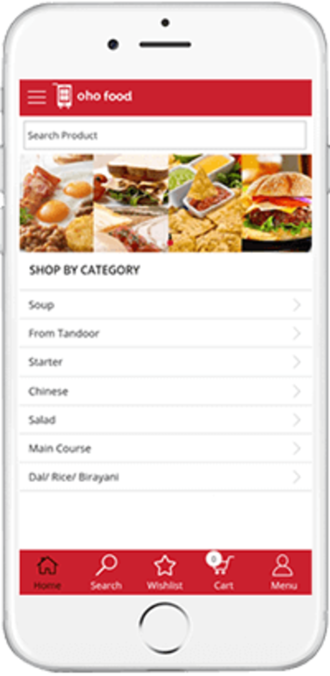 OhoShop Food App