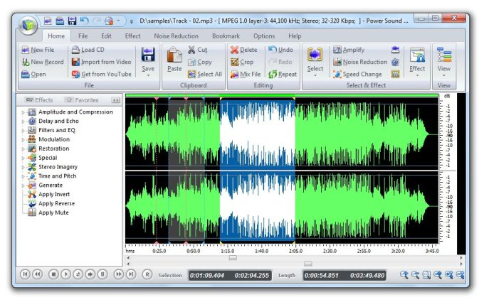 Power Sound Editor Free