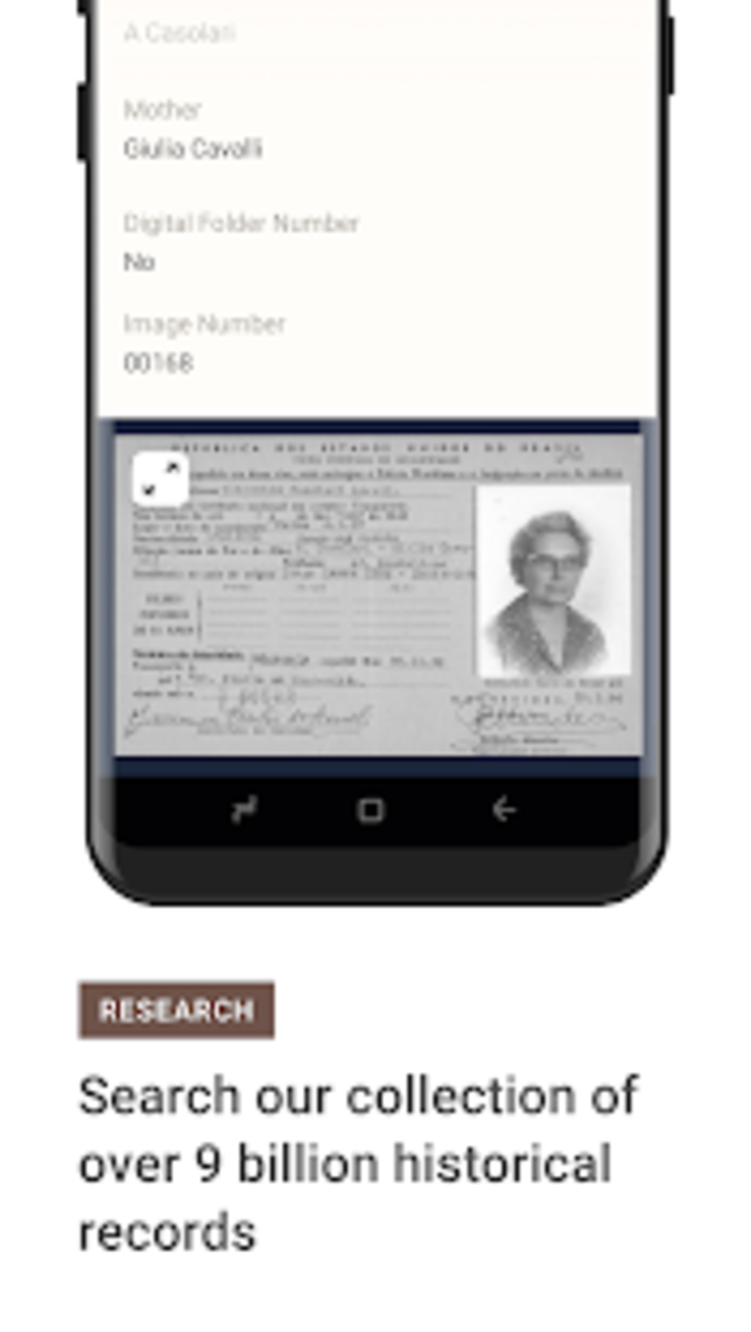 MyHeritage - Family tree DNA ancestry search para Android