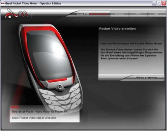 deset Pocket Video Maker - Symbian Edition
