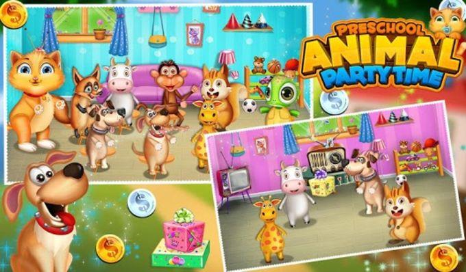Preschool Animal Party Time