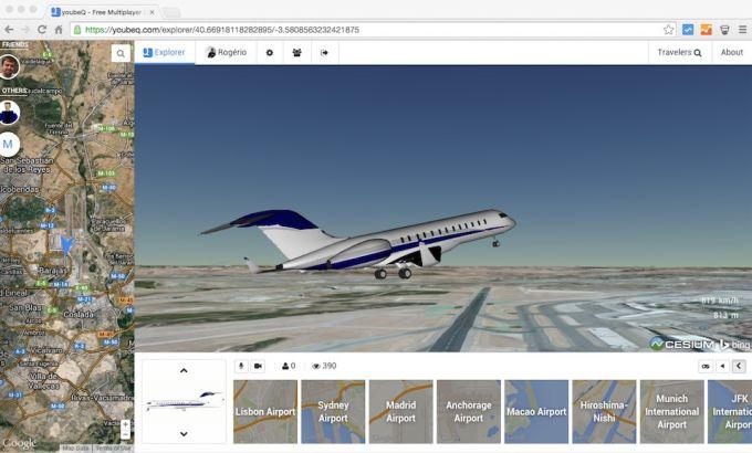 youbeQ - Flight Simulator and Driving