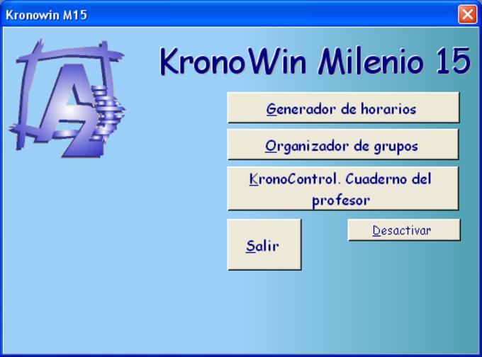 KRONOWIN Generador de Horarios