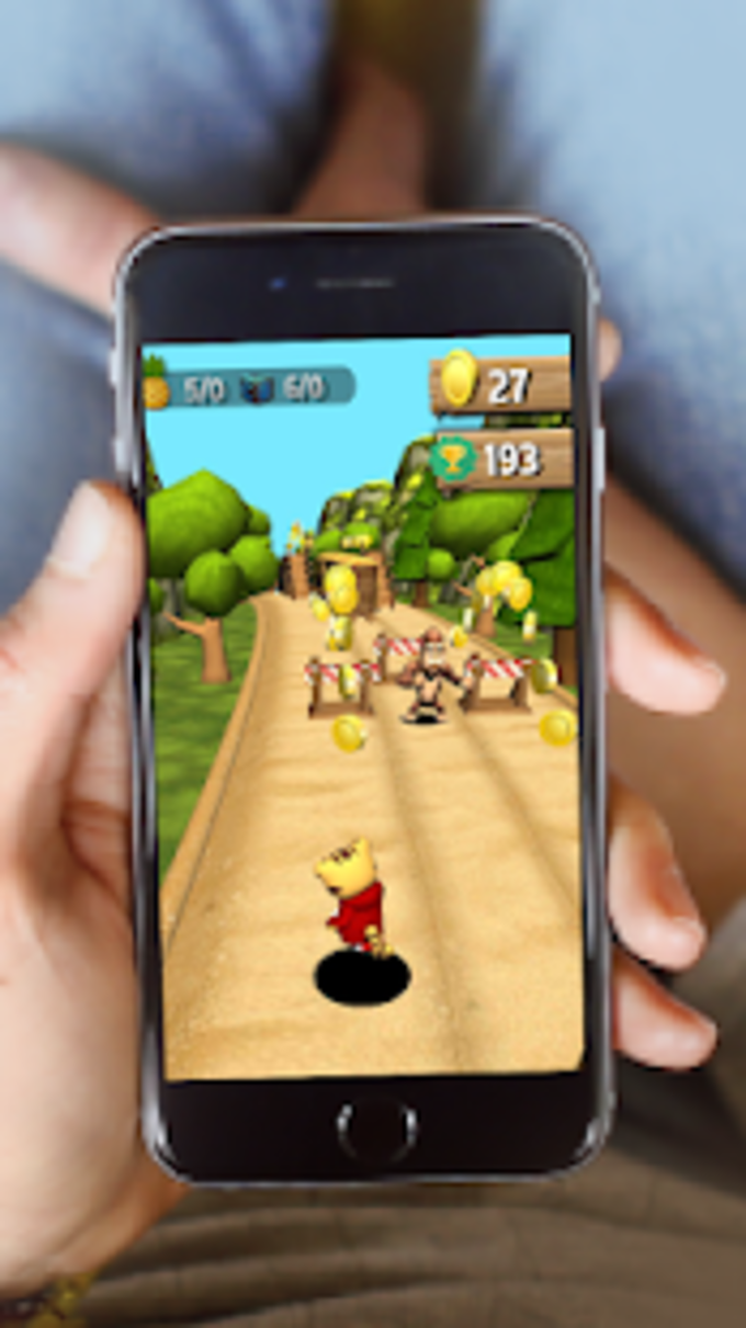 Tiger Cartoon : Animal Running for Android - Download