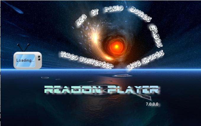 Readon TV Movie Radio Player