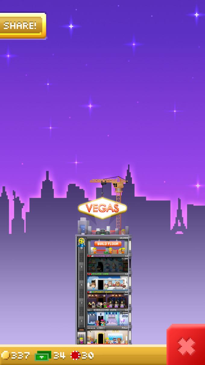 Tiny Tower Vegas