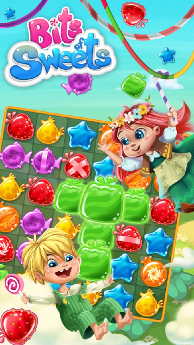 Bits of Sweets - Match 3 Puzzle - Sugar Candy Game