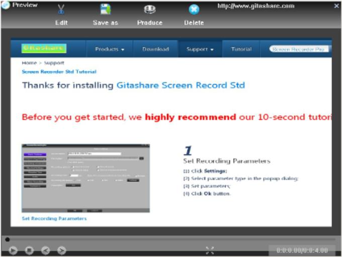 Screen Recorder Std