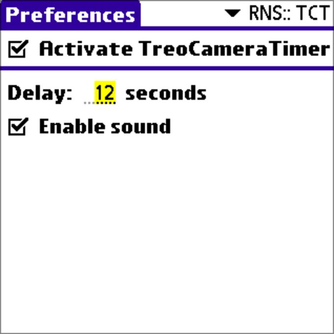 TreoCameraTimer
