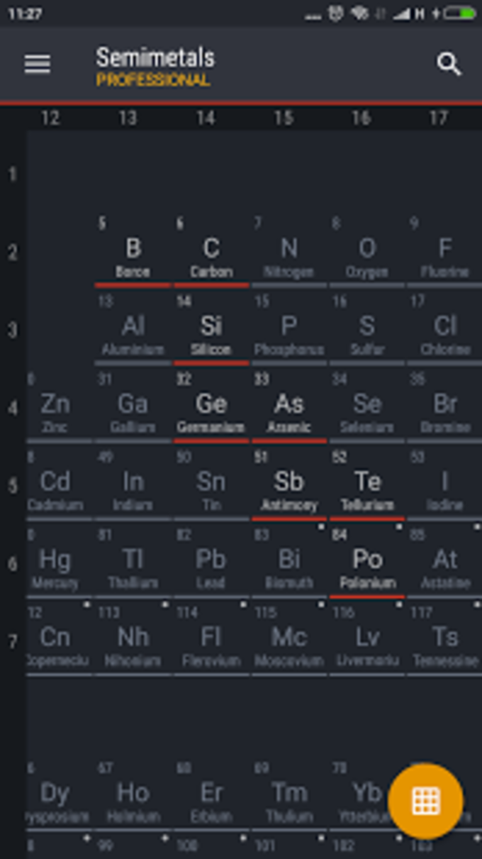 Periodic table 2018 pro for android download periodic table 2018 pro urtaz Gallery