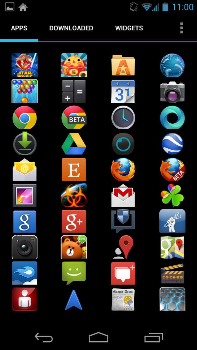 download themes apps for android