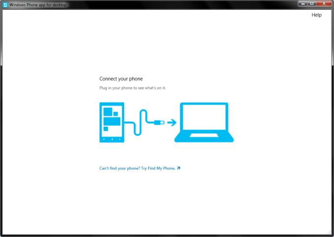 Aplicativo do Windows Phone para desktop