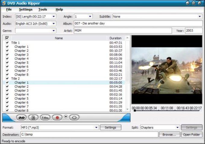 ImToo DVD Audio Ripper