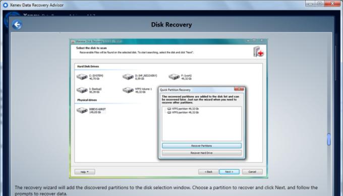 Data Recovery Adviser