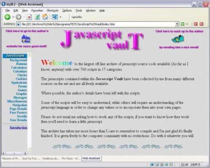 Javascript Vault