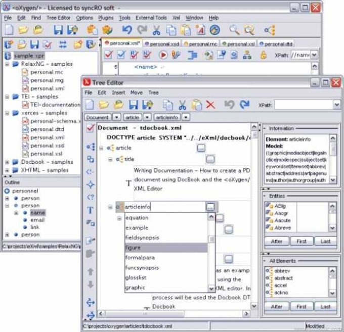 Oxygen XML Editor and XSLT Debugger