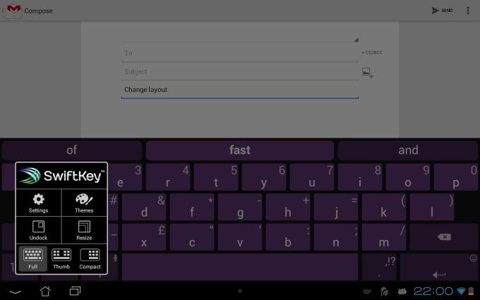 SwiftKey Tablet (Legacy)