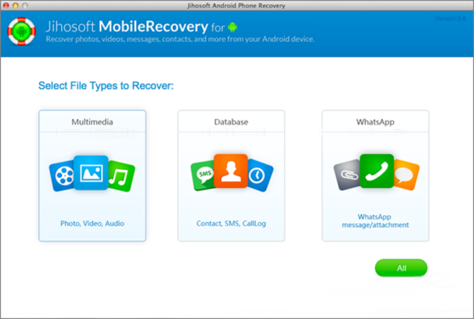 Jihosoft Android Data Recovery for Mac