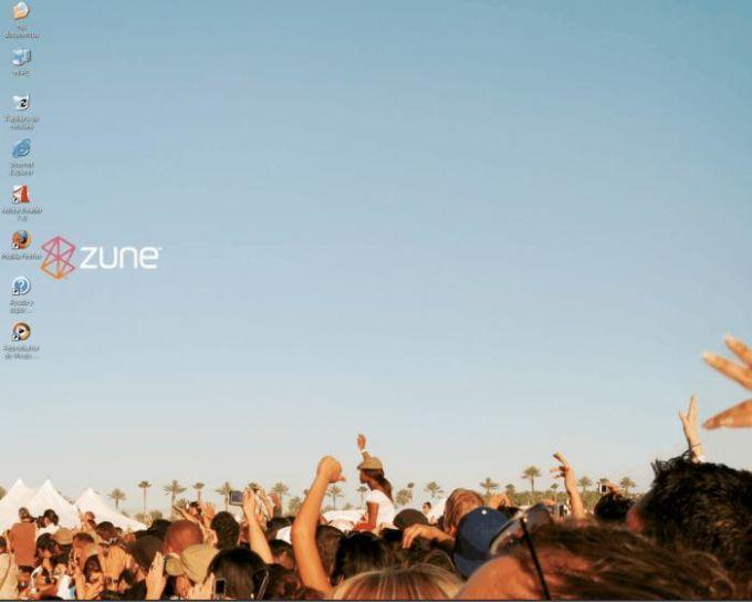 Microsoft Zune Theme