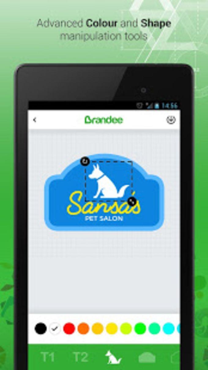 Brandee  Free Logo Maker  Graphics Creator