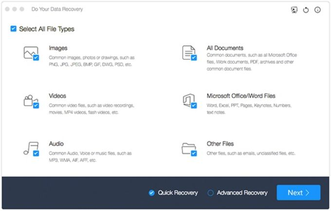 Do Your Data Recovery for Mac