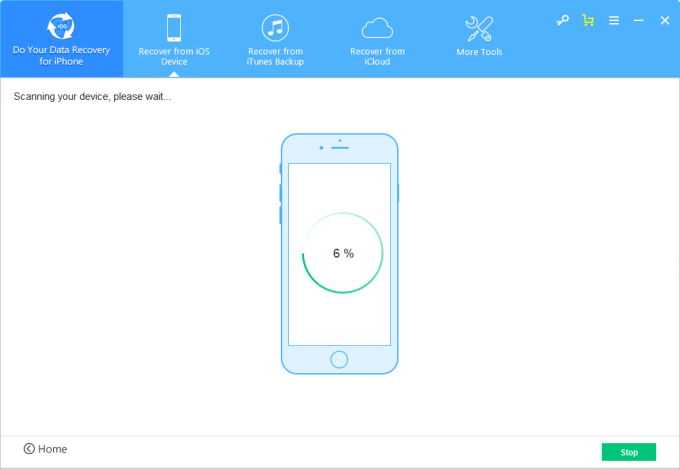 Do Your Data Recovery for iPhone Mac