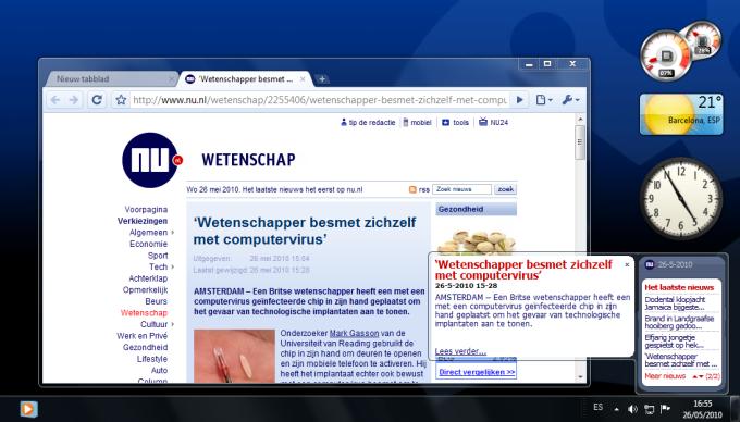 NU.nl gadget