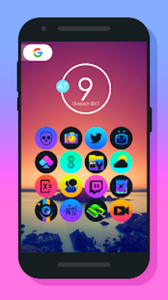 Planet O  Icon Pack