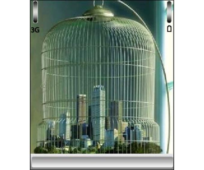 City in a cage Theme