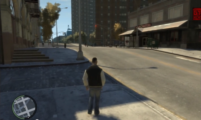 GTA V style in GTA IV - Char switch