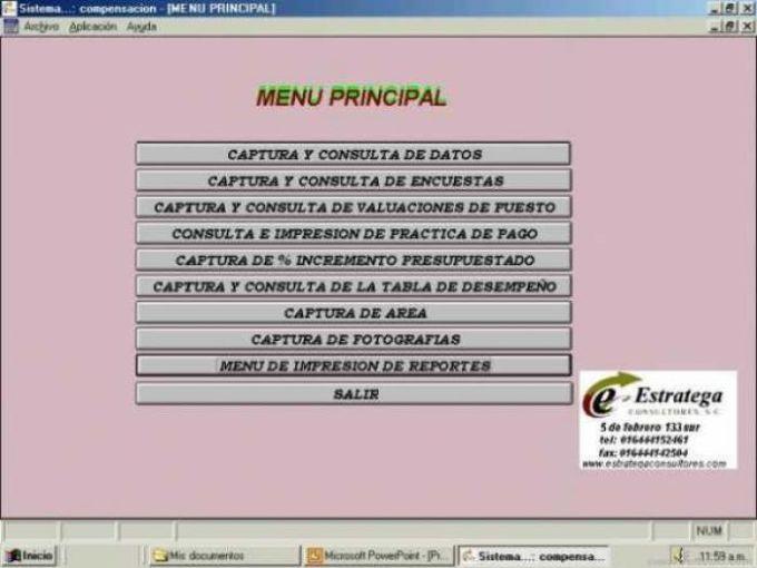 Sistema de Administración de Sueldos