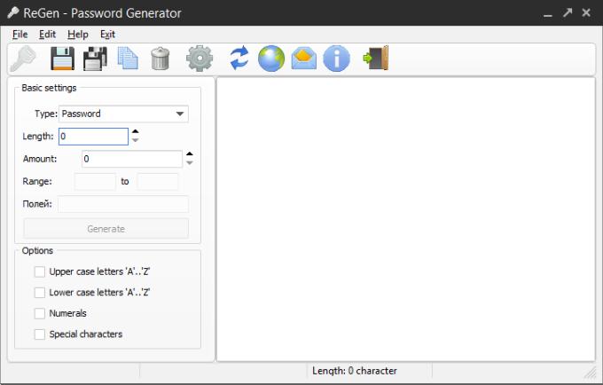 ReGen - Password Generator
