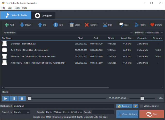 Free Video To Audio Converter Download