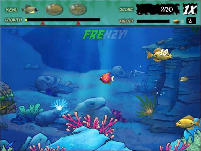 Mini Game Cũ mà hay Feeding-frenzy-game-screenshot