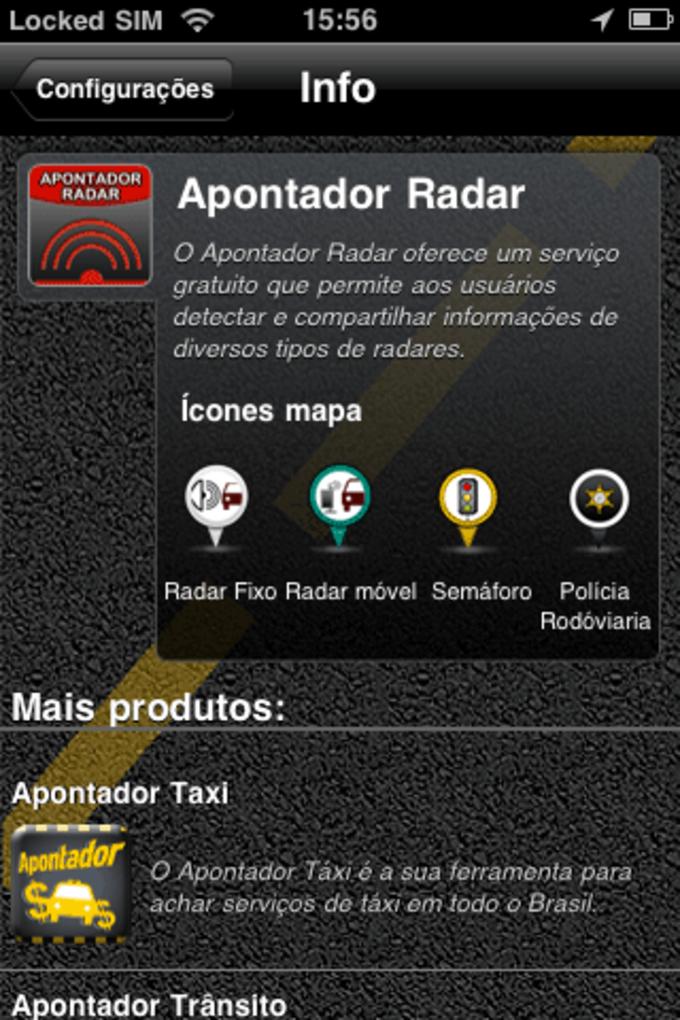 Apontador Radar