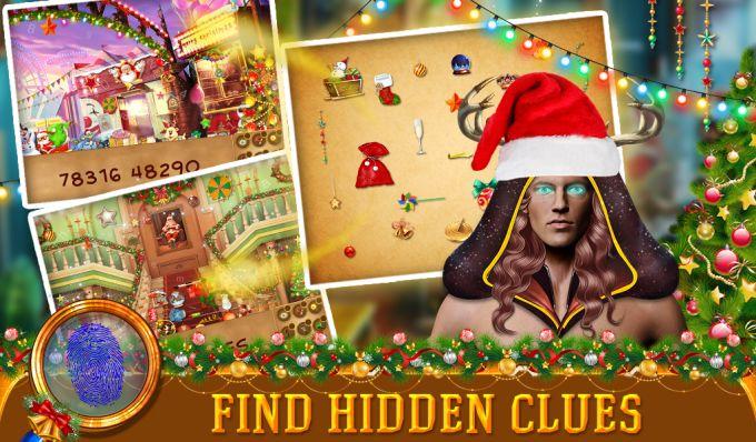 Christmas Case Hidden Object