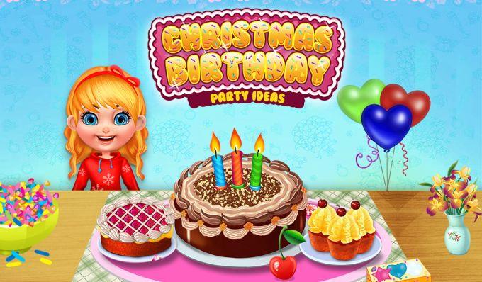 Christmas Birthday Party Ideas