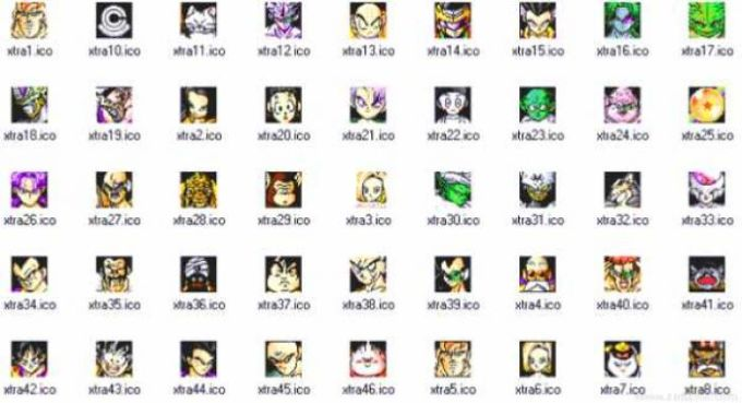 DRAGON BALL Z Icons