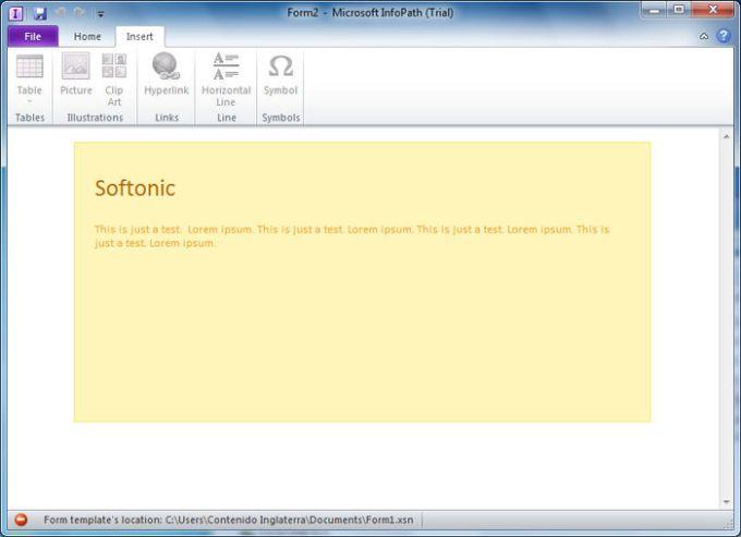 Microsoft InfoPath