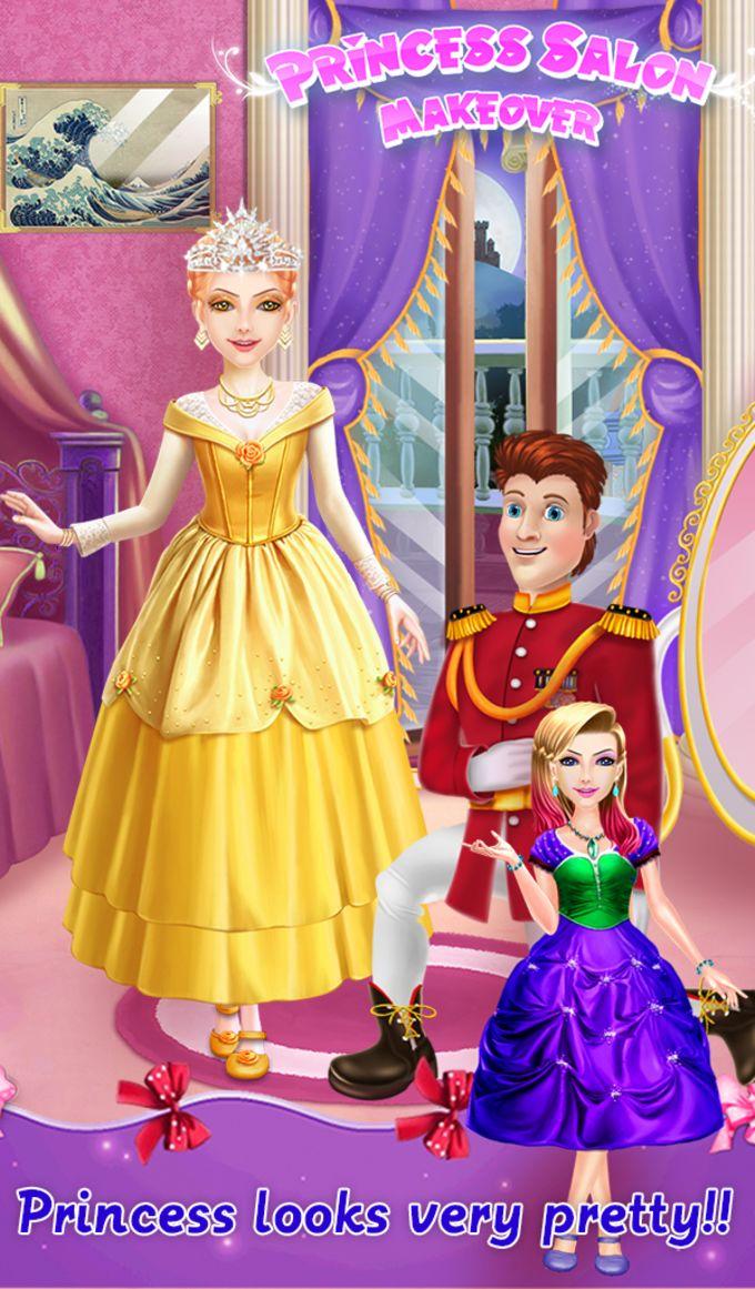 Princess Salon Makeover