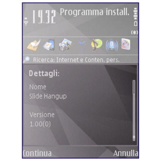 Slide Hangup
