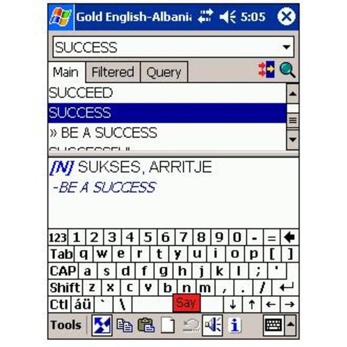 LingvoSoft Free Talking Dictionary English-Albanian-English