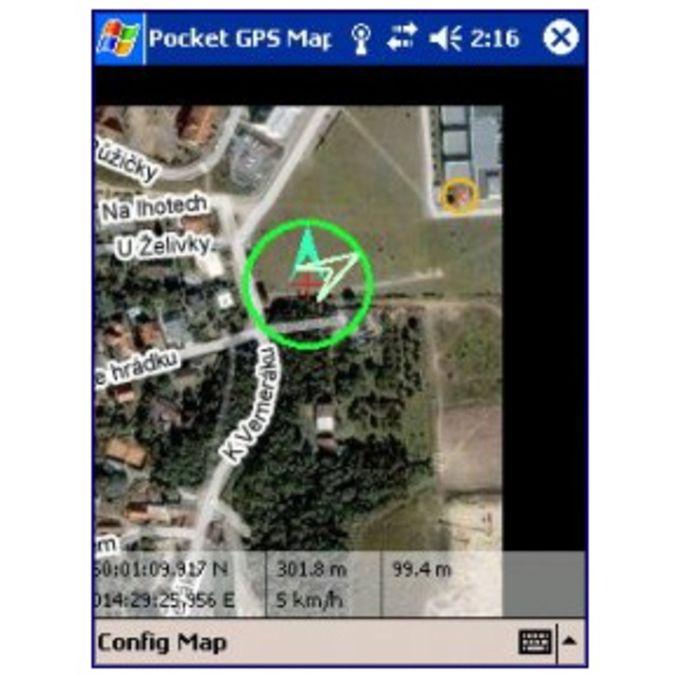 PocketGPS-Map