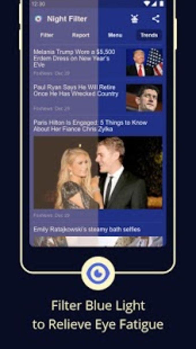 Blue Light Filter  Screen Dimmer for Eye Care